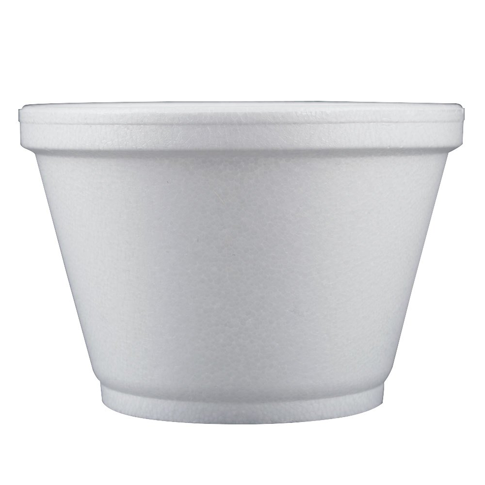 DART Foam Food Containers, White, 2.3