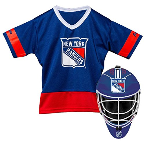 Franklin Sports NHL New York Rangers Youth Team Uniform Set, Blue, One Size – DiZiSports Store