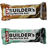Clif Bar Builders Nutritional Bar Variety Pack, 18 Count (2.40 per bar)