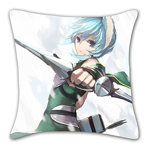 Forever Memories Gun gale online Sinon Hugging pillow / Cushion Cover #C1395