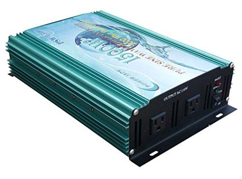 3000W peak 1500W Pure Sine Wave Power Inverter DC 12V to AC 110V 60Hz, Car power (Degaussing Coil)