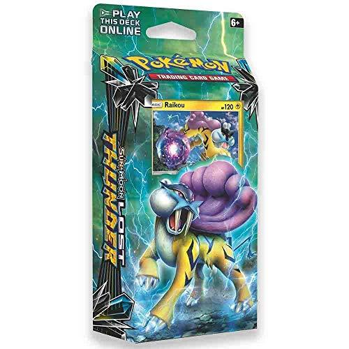 Pokemon TCG: Sun & Moon - Lost Thunder, Storm Caller 60-Card Theme Deck Featuring A Holographic Raikou