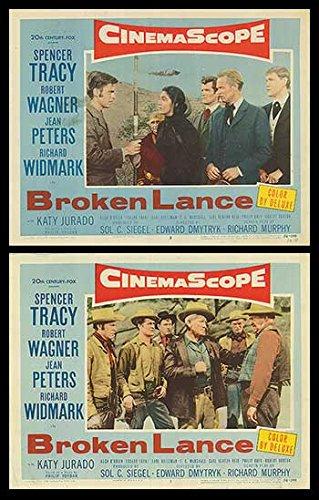 "Broken Lance - Authentic Original 14"" x 11"" Movie Poster by MovieposterDotCom"