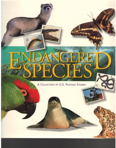 Endangered Species; A Collection of US Postage Stamps