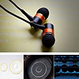 In-ear Noise Isolation Earphonne extentedBass Response high definition and clear sound with neodymium Drivers