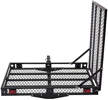 Amazon.com: Goplus, porta silla de ruedas plegable ...