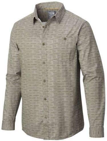 Mountain Hardwear Men's Hillstone Long Sleeve T-Shirt, Peatmoss, ()