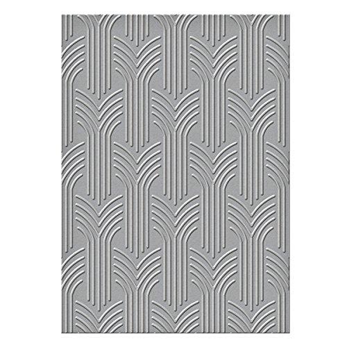 Spellbinders S6-069 Arched Arrows Texture Plate by Spellbinders