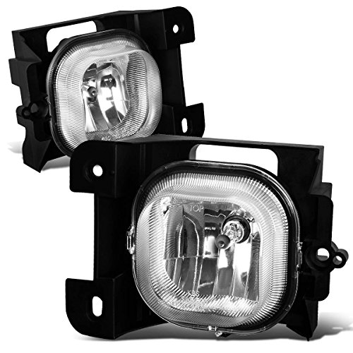 For Ford Ranger Pair of Bumper Driving Fog Lights (Clear (Ford Ranger Driving)