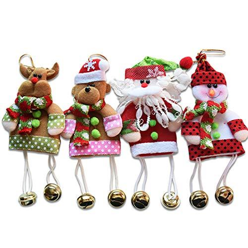 Mydufish Santa Pendant Christmas Tree Ornaments Hanging Guirlande Noel -