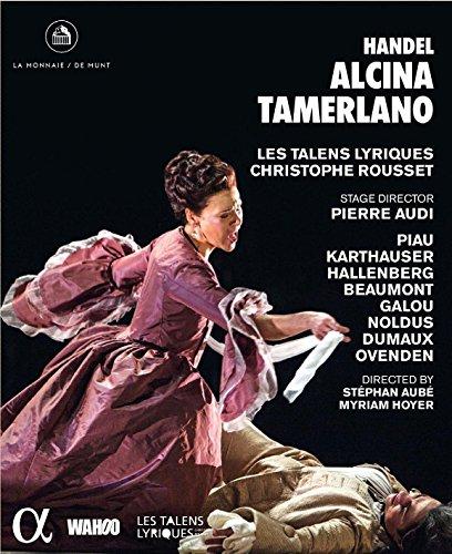 Handel: Alcina & Tamerlano [Blu-ray]