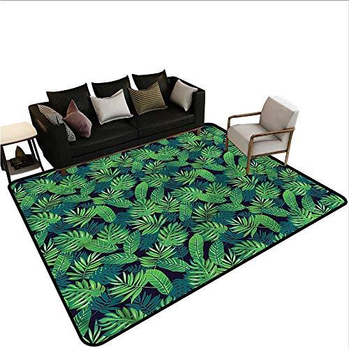 Tropical,Designed Kitchen Bathroom Floor Mat 24