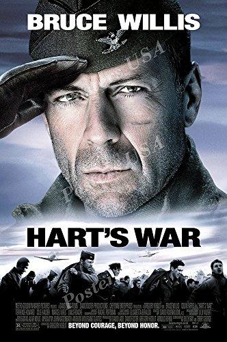 PremiumPrints - Bruce Willis Harts War Movie Poster - XFIL060 (Premium Canvas 11