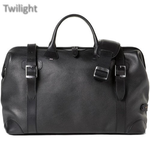 Barber Shop Quiff Borsa Traveler Doctor Camera Bag (Grained Leather, Black) ()