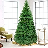front porch decorating ideas Artificial Christmas Tree. Fake Xmas Green Pine Tree Looks Real, Natural. Great for Indoor, Outdoor, Home, Yard, Patio, Backyard, Gazebo, Front Porch, Deck Holiday Season Party Decor (6.9ft, Green1)