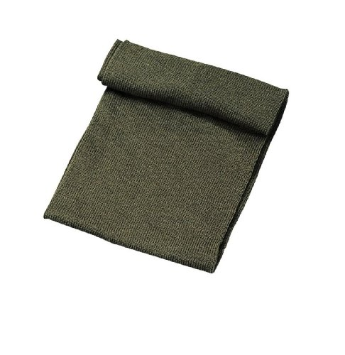 G.I. Olive Drab Wool Scarf, One Size