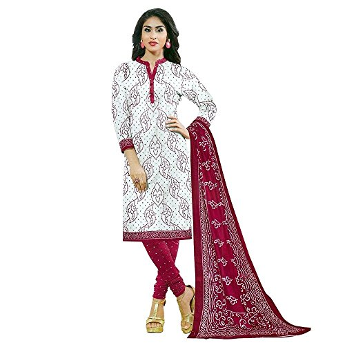 Ready to Wear Ethnic Bandhani Printed Cotton Salwar Kameez Indian Dress
