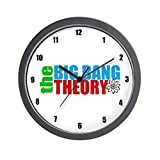 CafePress – Big Bang Theory – Unique Decorative 10″ Wall Clock For Sale