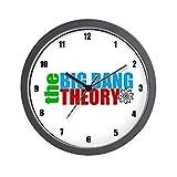 CafePress – Big Bang Theory – Unique Decorative 10″ Wall Clock For Sale