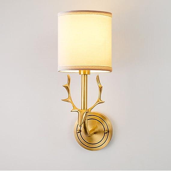 Amazon.com: nclon creativa moderna cobre candelabro de pared ...