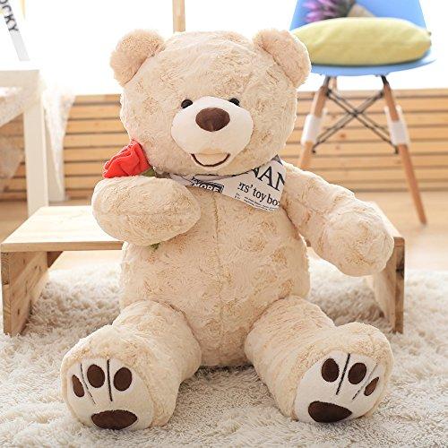 Stuffed Animal Teddy Bear Plush Soft Toy 80CM Huge Soft Toy Purple - 5