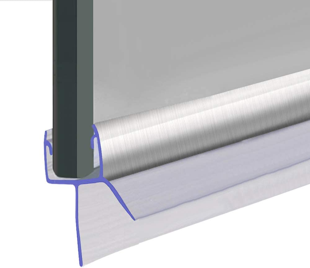 Shower Seal Joint d/'/étanch/éit/é pour porte//panneau//vitre de douche longueurs disponibles : 80//90//140//2 m ailette de 13 mm SEAL031 convient pour du verre de 4 /à 6 mm d/'/épaisseur