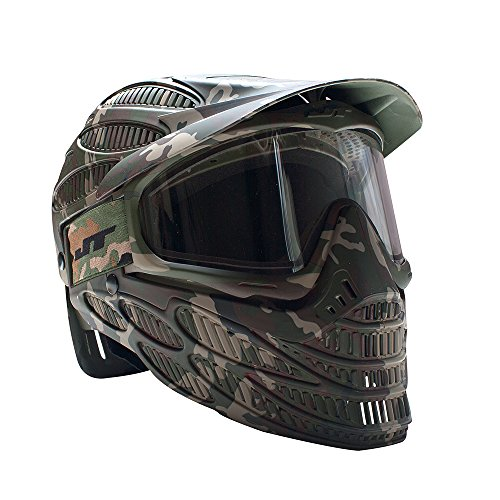Paintball Usa Mask - JT Spectra Flex 8 Thermal Full Coverage Goggles, Camo, Clear