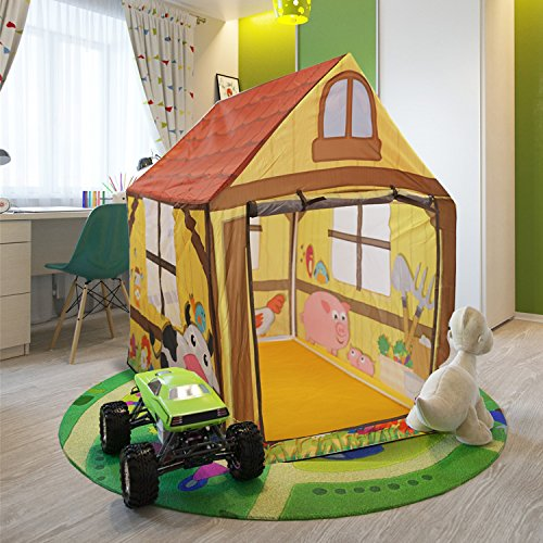 Children Play Tent Indoor Outdoor Playhouse For Girls And Boys