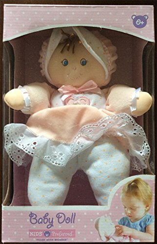 Raven Baby Doll (Kids Preferred Soft Plush Baby Doll-kelly)