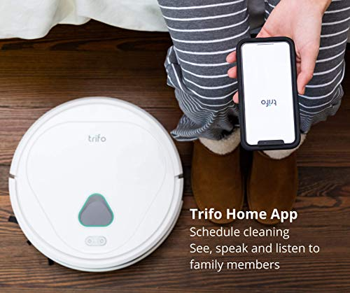 Trifo Home Robot Vacuum Cleaner, Home Surveillance Robot Vacuums with AI Camera Recording, 3000Pa, App Controlled, Alexa…