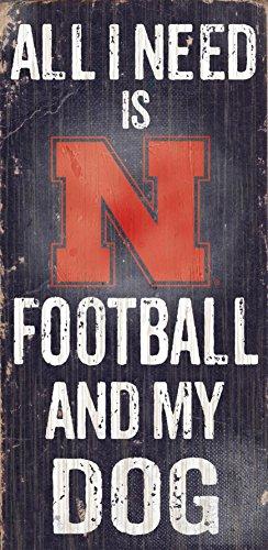 Fan Creations C0640 University Of Nebraska Football And My Dog - Outlets Nebraska