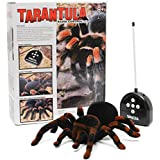 MECO Spider Scary Toy Remote Control 8'' 4CH Realistic RC Prank Holiday Gift Model