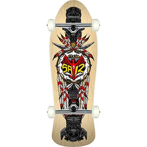 "Powell-Peralta Skateboard Complete Steve Saiz Totem Natural 10"" x 30.81"" Assembled"