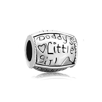 Daddy S Little Girl Silber 925 Mit Herz Anhanger Motiv Verkauf