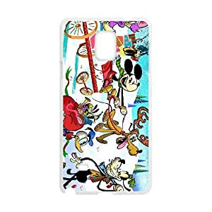 samsung_galaxy_note4 phone case White Mickey's Magical Christmas Snowed in at the House of Mouse BFS8484748