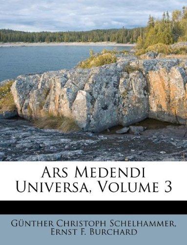 Read Online Ars Medendi Universa, Volume 3 (Italian Edition) pdf epub