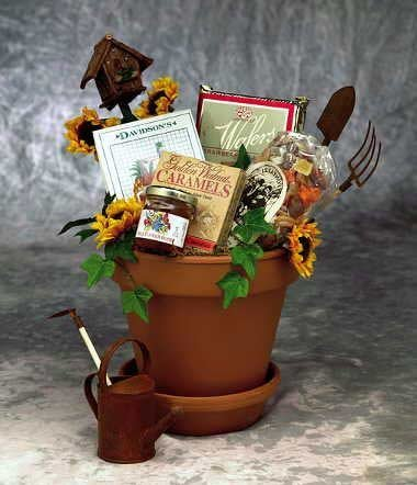 Whimsical Sunflowers Gift Basket for Her