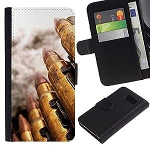 Ihec-Tech / Flip PU Cuero Cover Case para Samsung Galaxy S6 SM-G920 - Bullet