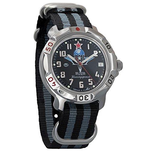 Vostok Komandirskie Russian Airborne Forces VDV Army Mechanical Mens Military Commander Wrist Watch #811288 (Russian Wrist Mechanical Watches)