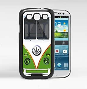 The 70's Hippie Weed Mini Van Rubber Silicone TPU Cell Phone Case (Samsung Galaxy Note III 3 N9002)