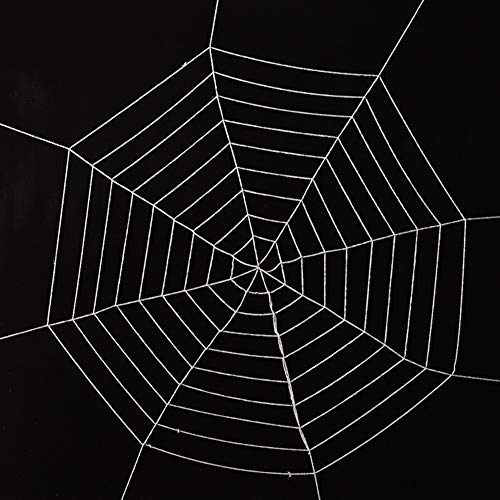 T-REASURE Halloween Spider Webs,Mega Stretch Fake Spider Web for Halloween Cobwebs Home Yard,House Party Decor Props -