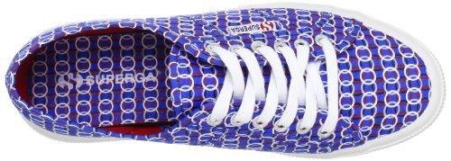 Superga 2750-FANTASY COTU S001W00 - Zapatillas de lona para mujer Multicircles Blu