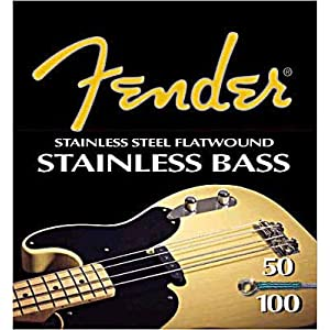 Fender 9050s Stainless Steel Flatwound Bass (40-100/45-105/50-100/55-105)9050L 45-100