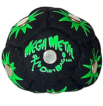 World Footbag Dirtbag Mega Metal Hacky Sack Footbag