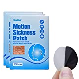 108 Pcs/3 Boxes Motion Sickness Relief Patch Air/Car/SeaTravel Sickness, Hydrogel, Ear, Belly Strips