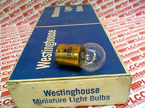 WESTINGHOUSE 1251 Incandescent Bulb .23AMP 28V