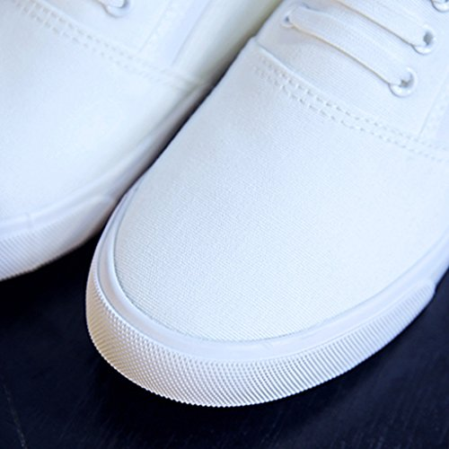 coreano da donna casuali da stile da Espadrillas in 37 Color di Bianca basse YaNanHome Scarpe Scarpe scarpe tela Bianca casuali donna uomo Size scarpe 6qCwFU