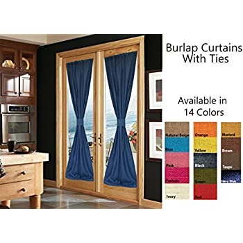 drapes panels who could knew in with curtains using essentials grommets diy elegantburlap so burlap look and curtain