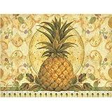 Pimpernel Golden Pineapple Placemats - Set of 4 (Large)