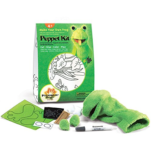 Hand Puppet Crafts (Folkmanis Frog Hand Puppet Craft Kit)